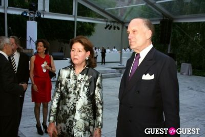 ronald s.-lauder in MOMA Garden Party