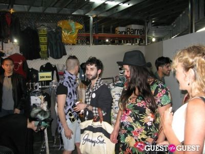 jo castellanos in the Cobra Shop Opening Party