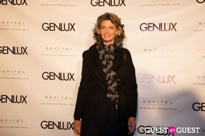 joan severance in Genlux Magazine Winter Release Party with Kristin Chenoweth