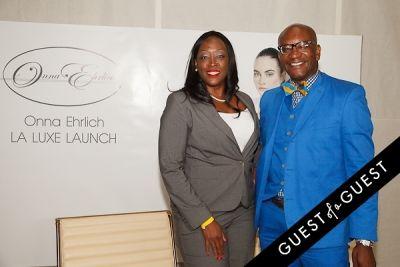 joanie dixson in Onna Ehrlich LA Luxe Launch Party