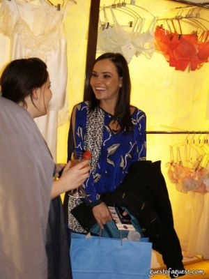 joanie fougner in La Perla Shopping Event