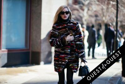 joanna hillman in NYFW Street Style Day 7