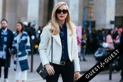 joanna hillman in Paris Fashion Week Pt 2