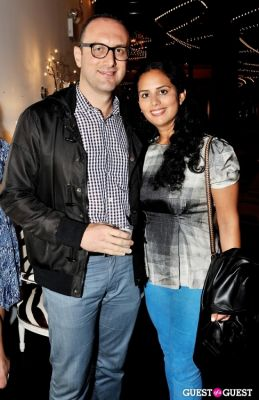 joe ben-zvi in Luxury Listings NYC launch party at Tui Lifestyle Showroom
