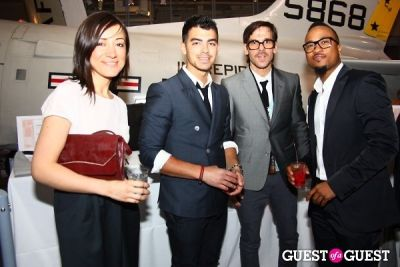 joe jonas in Jeffrey Fashion Cares 2012