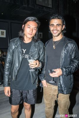 andrew joseph in Oliver Theyskens Theory After Party