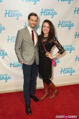 joe sprott in Arrivals -- Hinge: The Launch Party