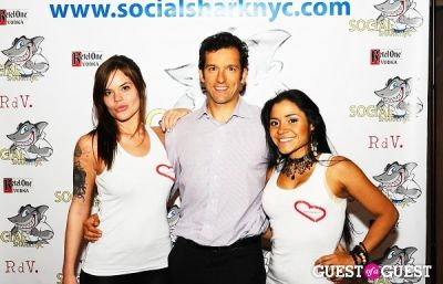 joe zenkus in SocialSharkNYC.com Launch Party