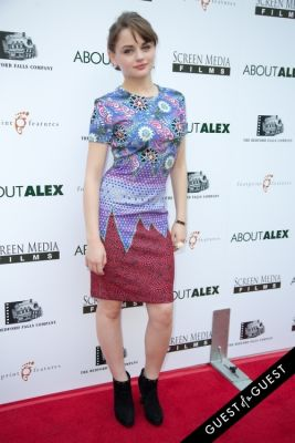 joey king in Los Angeles Premiere of ABOUT ALEX