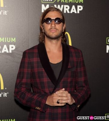 john martin in McDonald's Premium McWrap Launch With John Martin and Tyga Performance