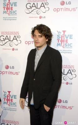 john mayer in VH1 SAVE THE MUSIC FOUNDATION 2010 GALA