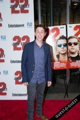 john milhiser in 22 Jump Street Premiere