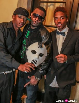 john -pimpdapen--wayne in Nick Cannon's Ncredible Haunted Mansion Party