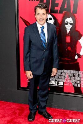 john ross-bowie in The Heat Premiere