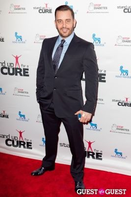john whalen in Stand Up for a Cure 2013 with Jerry Seinfeld