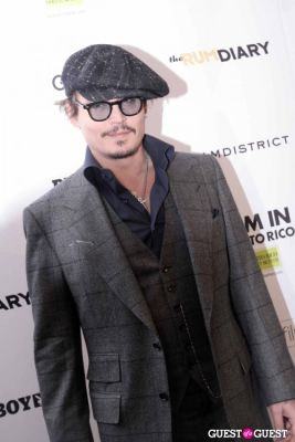 johnny depp in The Rum Diary 102511