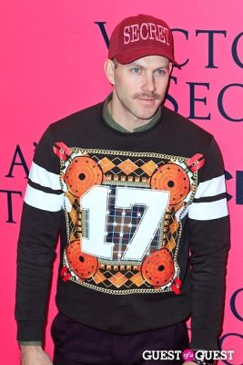 johnny wujek in 2013 Victoria's Secret Fashion Pink Carpet Arrivals