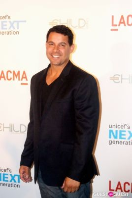 jon huertas in UNICEF Next Generation LA Launch Event
