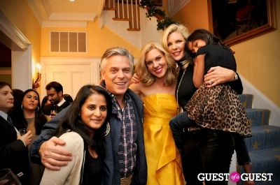 jon huntsman in Malaria No More Launch Party
