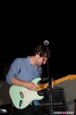 jon walker in The Young Veins: Rooftop Performance