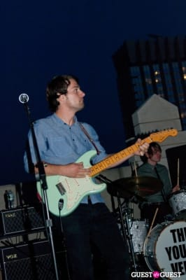 jon walker in The Young Veins: Rooftop Performance