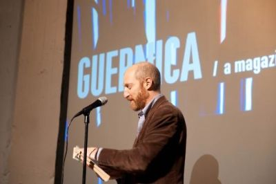 jonathan ames in Guernica Magazine 5 Year Bash