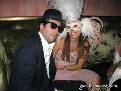 jonathan ferrari in Halloween at Rose Bar