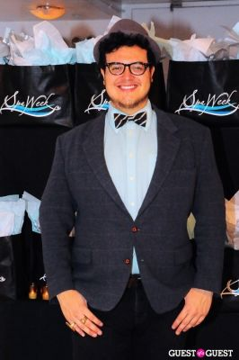 jonathan valdez in Spa Week Media Party Fall 2011
