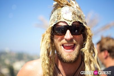 jonathen lund in SpiritHoods Swimwear Launch Party