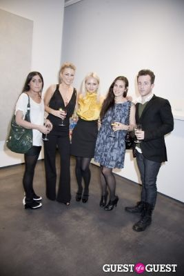 ashley paige-frankel in Pinaree Sanpitak Opening at Tyler Rollins Fine Art