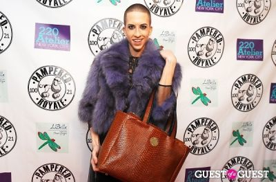 josh carter in PAMPERED ROYALE BY MALIK SO CHIC Fall 2011 Handbag Launch