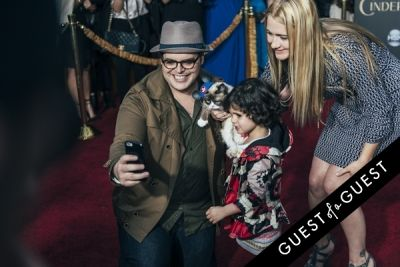 josh gad in Premiere of Disney's