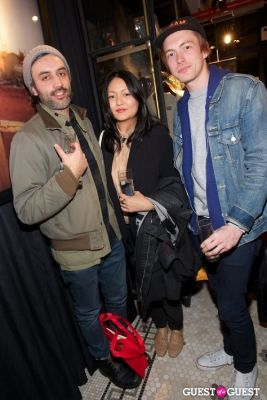 jung kim in Scotch & Soda Launch Party
