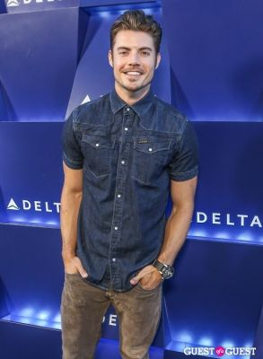 josh henderson in Delta Air Lines Hosts Summer Celebration in Beverly Hills