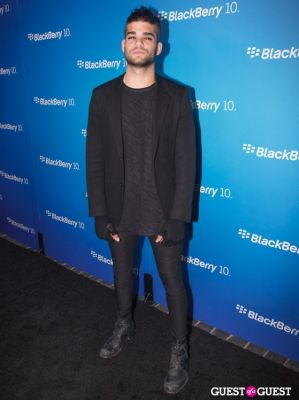 josh lecash in BlackBerry Z10 Launch