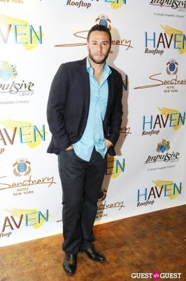 josh shames in Haven Rooftop ONE Year Anniversary