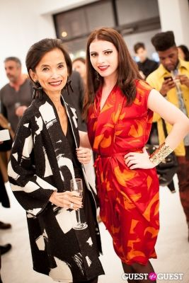 "josie natori-and-alina-fayer in ""Josie and The Dragon"" Launch Party with Designer Natori"