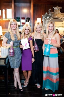 ashley taylor in Tinsley Mortimer at Nectar Skin Bar