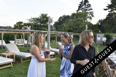 jude trepanier in Cointreau & Guest of A Guest Host A Summer Soiree At The Crows Nest in Montauk