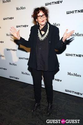 judith bernstein in 2013 Whitney Art Party