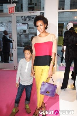 solange knowles in I.N.C Fall 2011 Launch Party