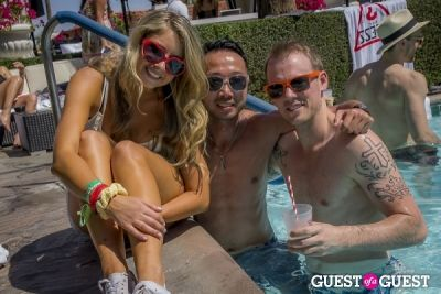 kyle maurer in The Guess Hotel Pool Party Saturday