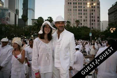 julia brauner in Le Diner En Blanc Los Angeles 2015