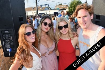 julia fehrenbach in Rise City Swim & Birddogs Present a Rosé Keg Party