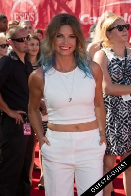 julia mancuso in The 2014 ESPYS at the Nokia Theatre L.A. LIVE - Red Carpet