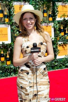 julia melim in Veuve Clicquot Polo Classic 2013