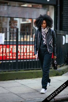 julia sarr-jamois in London Fashion Week Pt 1