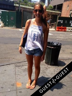 julia selsky in Summer 2014 NYC Street Style