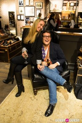 julia tavias in Frye Pop-Up Gallery with Worn Creative