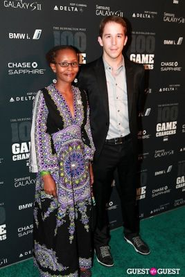 cameron thomson in 2011 Huffington Post and Game Changers Award Ceremony